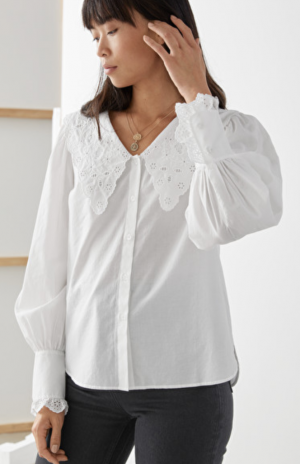 Statement Collar Blouse